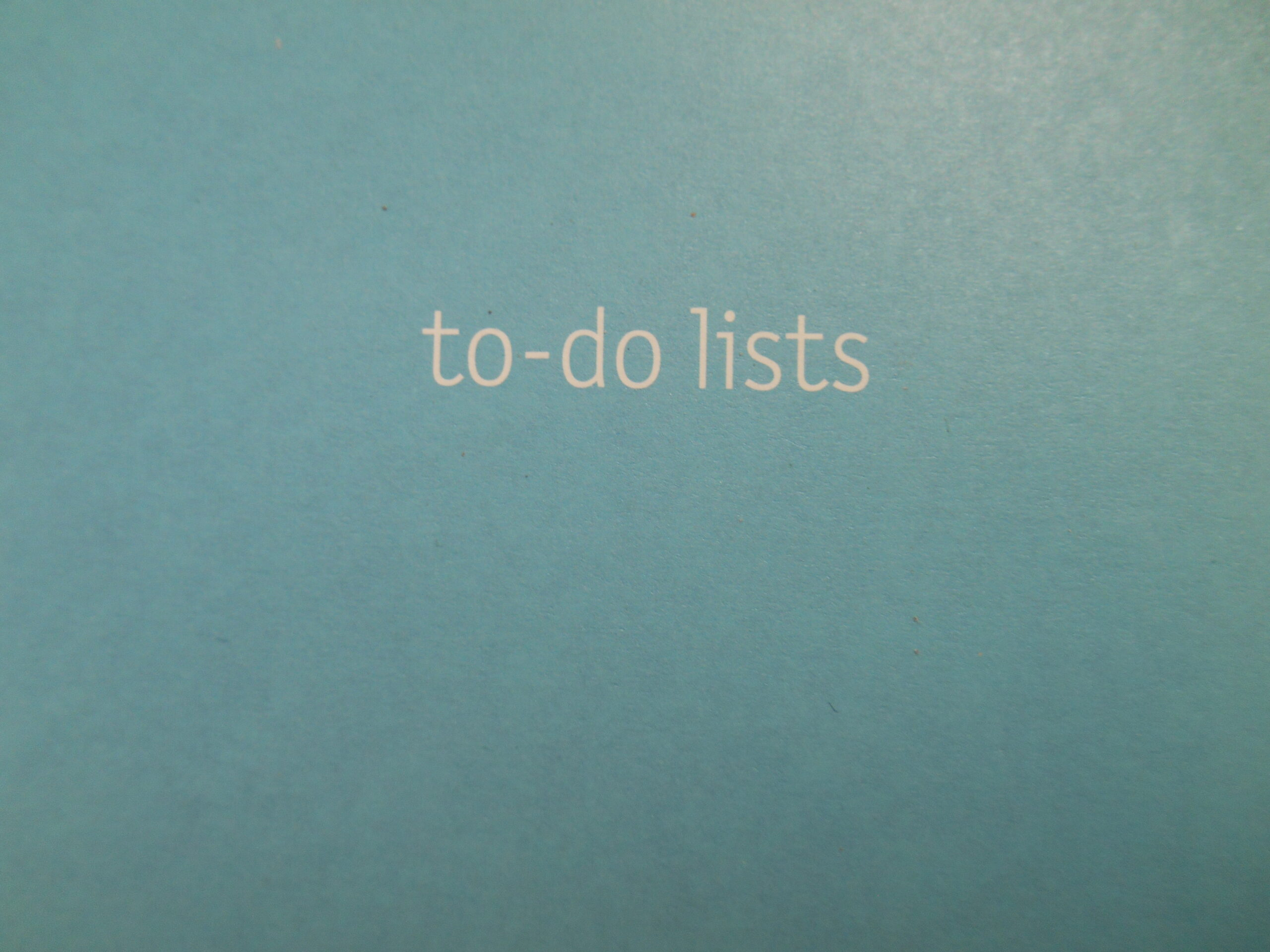 to do list photo